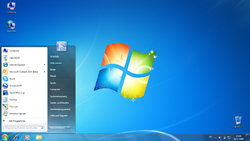 Desktop von Windows 7