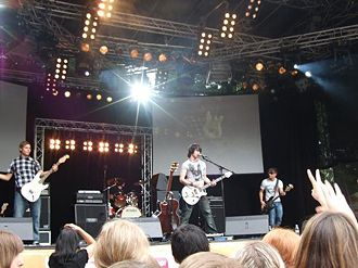 Benny + The Jets beim Halberg Open Air