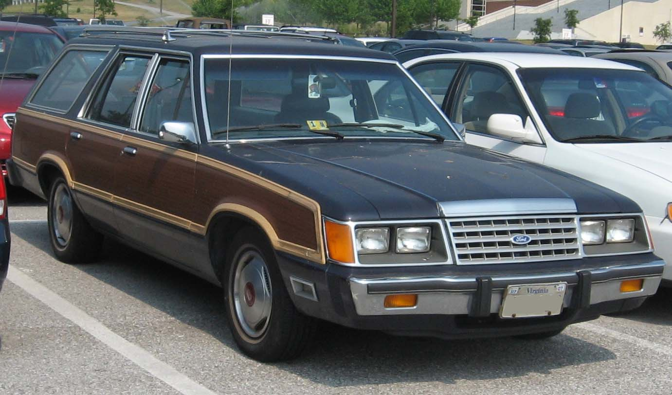 Ford Ltd 1964 Convertible Country Squire 19821986