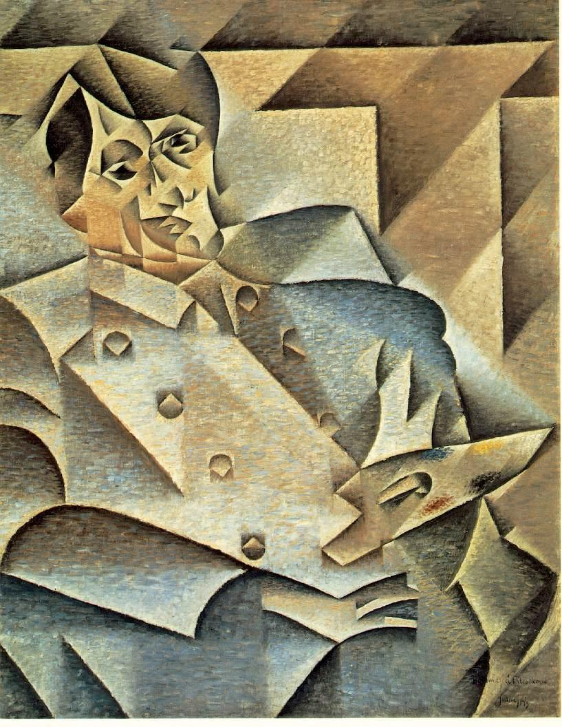 juan gris hommage picasso 1912 art institute of chicago chicago - Pablo Picasso Lebenslauf