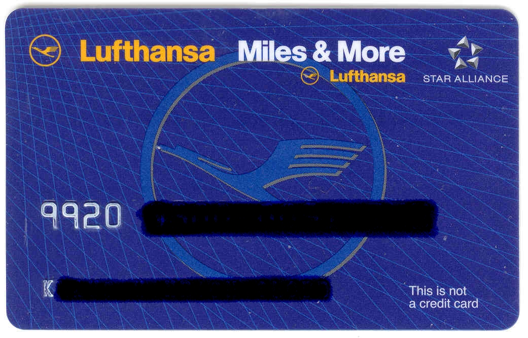 Lufthansa Miles And More Karte.Miles Amp More